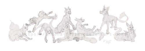 Canora's Pack WIP by Sheona-Fayls