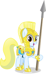 Sunlight Mane Days in armour by Vector-Brony