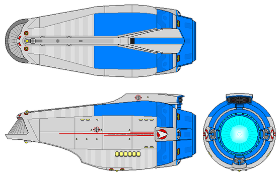Miniprise secondary hull by nichodo
