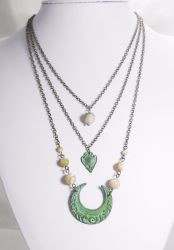 Art Deco Ocean Themed Necklaces by JinxMim