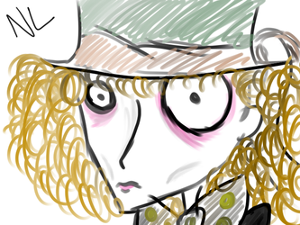 Burton styled Hatter by TheMadToYourHatter
