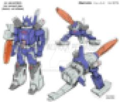 G1 Galvatron toy re-imagining by GuidoGuidi