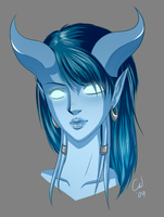 WoW - Draenei Female by TheCatlady