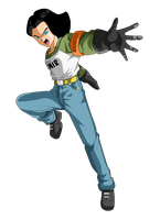 Android 17 by ChronoFz