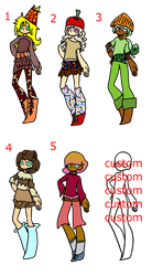 themed adopts by fluffy-adopts7