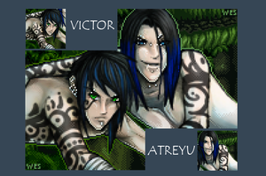 Victor and Atreyu - Conjoined by emo