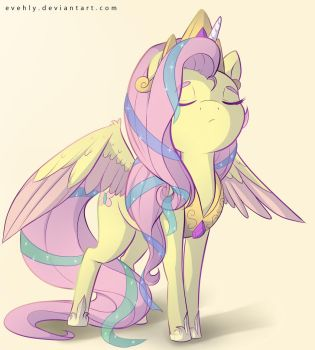 Totally Not Fluttershy by Evehly
