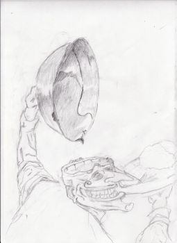 ZombieDinner-sketch by calejocarecangrejo