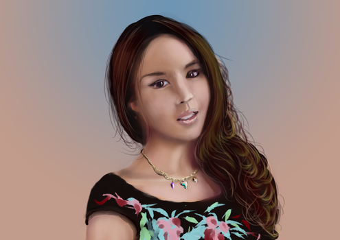 zhang zi ling after further work on shading by shmuckwolf