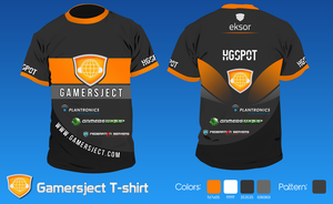 Gamersject T-shirt by snowy1337