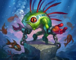 Hearthstone - Sleep with the Fishes by namesjames