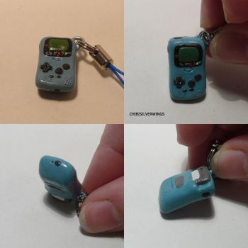 Gameboy Color Charm by ChibiSilverWings