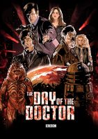 The Day of the Doctor by ChristopherOwenArt
