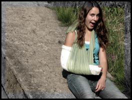 haha I broke my arm by liber-tango
