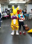 Comiciade 2014 Aachen (Digimon Cosplay) by AseliaNL