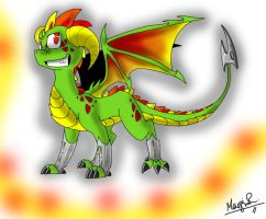 Anthres the Dragon by Insaneus
