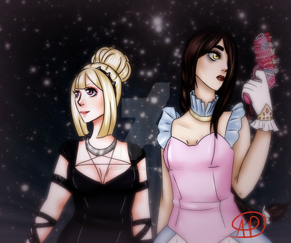 Magical Girls by ArcticPoison