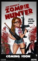 Zombie Hunter poster by Age-Velez