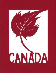 Oh Canada Papercut by calzephyr