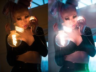 MyLittleVronie - LightItUp - Befor and After by Kopp-Photography