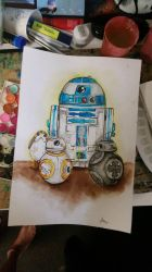 R2D2, a proud mother of 3 by IndiyaSkye