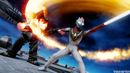 Ultraman Terra : Terranium Slash by viaditor954