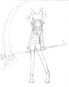 OC-Airi the Trickster by meteorweapon