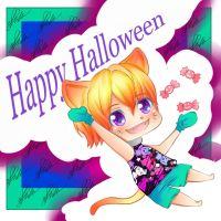 Happy Halloween by RavenMomoka