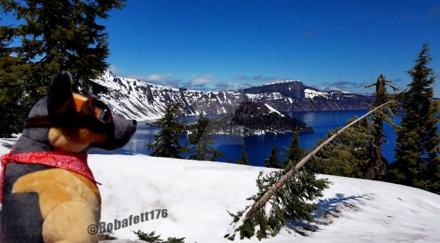Crater Lake by Bobafett176