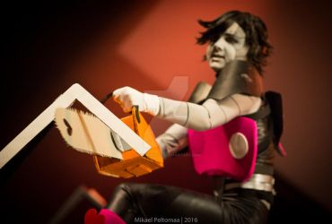 Cosvision 2016 - Mettaton the killer-robot by CrisisCosplay