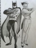 BATSY and the CLOWN PRINCE OF CRIME by Raevenous