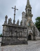 Brittany 12 - Church and Calvary by HermitCrabStock