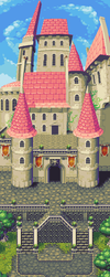 Castle panorama by World-of-NoeL