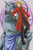 Elric Brothers by famira