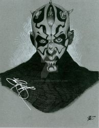 Darth Maul by prmedia
