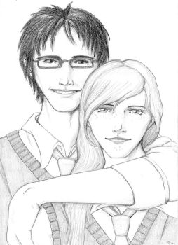 Lily and James by stompe