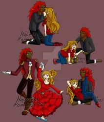 Com: Couple In Red by hopelessromantic721