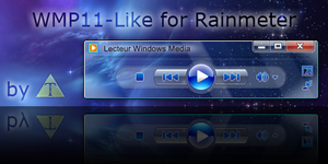 WMP11 - Like for Rainmeter by Tone94