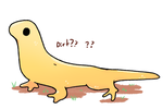 Lumpy Lizard by LexisSketches