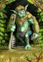 Forest Troll by maryquiZe