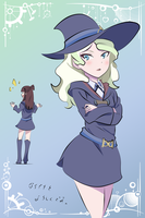 Akko and Diana by juli95