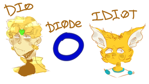 dio diode idiot by EszettB