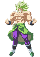 New Broly Legendary Ssj by andrewdragonball