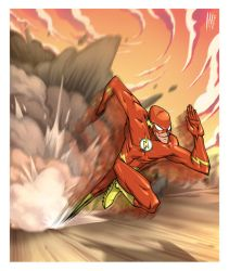 The Flash by Santolouco