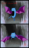 Golbat, close your mouth!