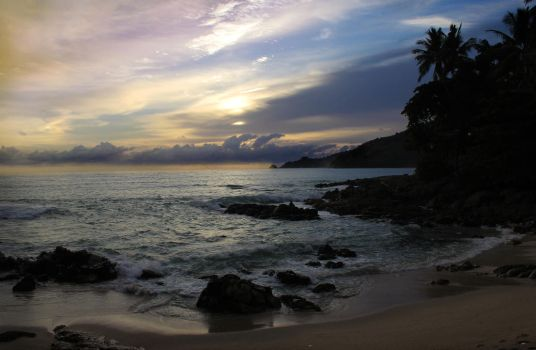 Watch the sun rise from the tropic isle by Callu