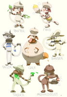 Smeargle variations