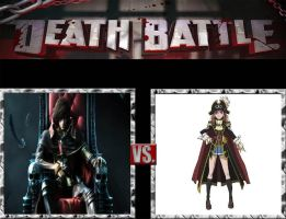 Request #50 Captain Harlock vs Marika Kato by LukeAlanBundesen