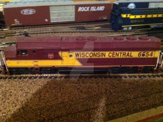Wisconcin Central FP45 by RailroadBrony