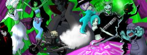 DP : Stop all the ghosts by DarkHalo4321